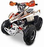 Quad Motore 4 Tempi 125cc NCX Moto Tracker R6 125 Arancione