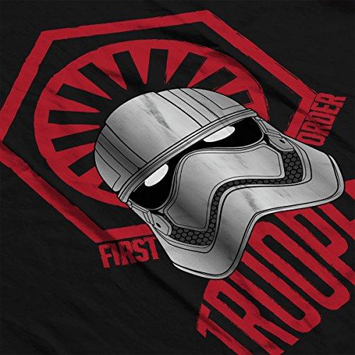 First Order Troopers Star Wars Men's Vest Black