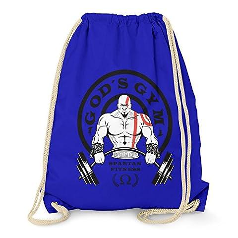 TEXLAB - God's Gym Spartan Gym - Turnbeutel, marine