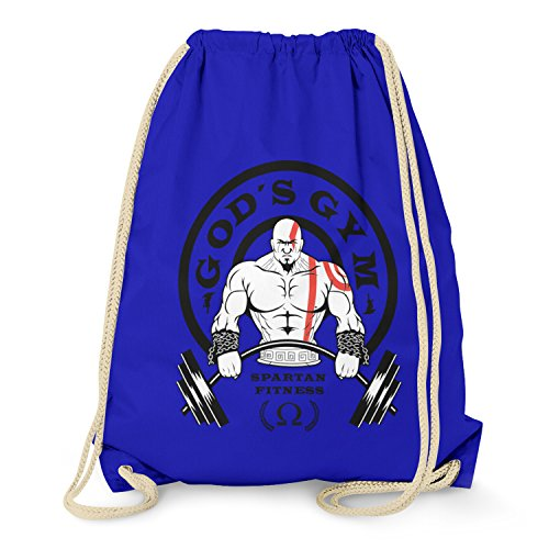 TEXLAB - God's Gym Spartan Gym - Turnbeutel, (Kostüme Gow 2)