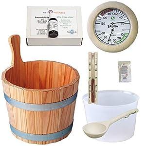 SudoreWell® Sauna Starter Set 4 / Saunazubehör Set 4-7-teilig