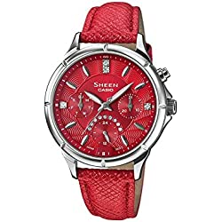 Reloj Sheen acero y swarovski SHE-3047L-4AUER