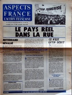 ASPECTS DE LA FRANCE [No 1856] du 28/06/...