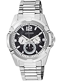 Citizen Analog Black Dial Men's Watch - AG8330-51E