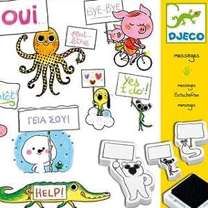 djeco loisirs cr atif coffret tampons messages jeux et jouets. Black Bedroom Furniture Sets. Home Design Ideas