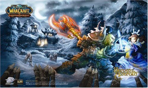 World of Warcraft Trading Card Game - Heroes of Azeroth Playmat by Upper Deck (Trading Card World Of Warcraft)
