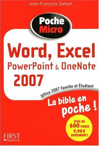 POC MICRO WORD, EXCEL 2007