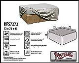 RFS7272 Schutzhaube für Rattan Lounge Tisch, Geflecht Kaffeetisch, Lounge Hocker, Fussteil oder Fussstütze Plane, abdeckhaube, Abdeckung, hülle