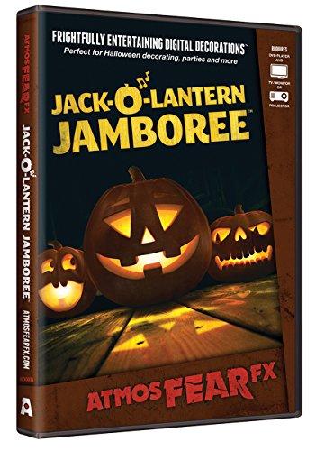 Lantern Jamboree Digital Decorations by AtmosFX (Scary Jack O Lantern)