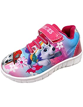 Paw Patrol Largo Pink Trainers Various Sizes