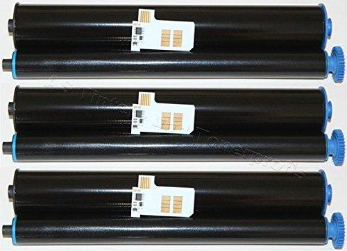Preisvergleich Produktbild 3x Kompatible Faxrolle für Philips Magic-5 Inkfilm PFA-351