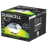 Duracell Solar LED Leuchte für Zaunpfähle, Garten Pfostenkappen, Zaunpfosten GL067COPDU mit 2 Adaptern in Edelstahl und Kunststoff