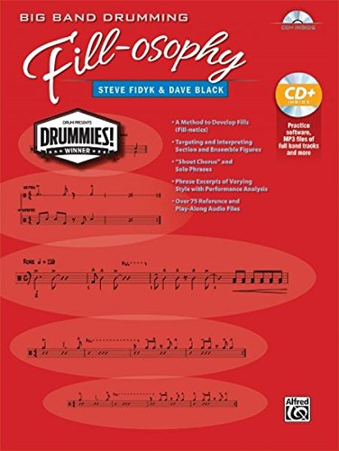Big Band Drumming Fill-Osophy: Book & MP3 CD