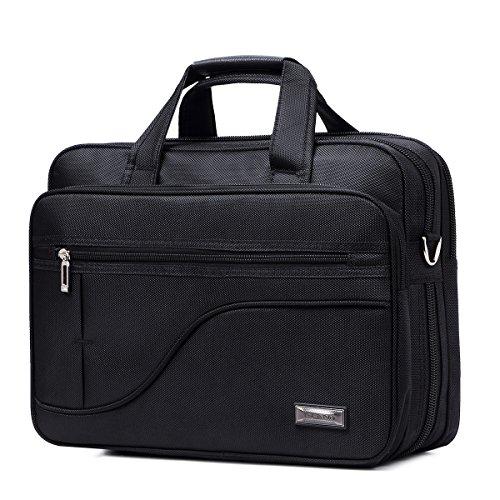 Oxford Stoffbeutel männlichen Business cross Männer Paket Tasche canvas Freizeit Männer Pakete Masse PC Packages, 13 cm (klein) schwarz (Attache Leinwand)