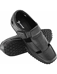 Copper Shoes Style Casual Wear Leather Comfort Sandals and Floaters for Mens, Boys and Gent's