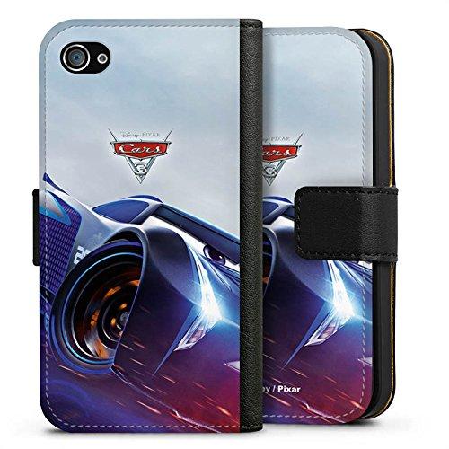 Apple iPhone 8 Silikon Hülle Case Schutzhülle Cars 3 Jackson Storm Disney Cars Sideflip Tasche schwarz