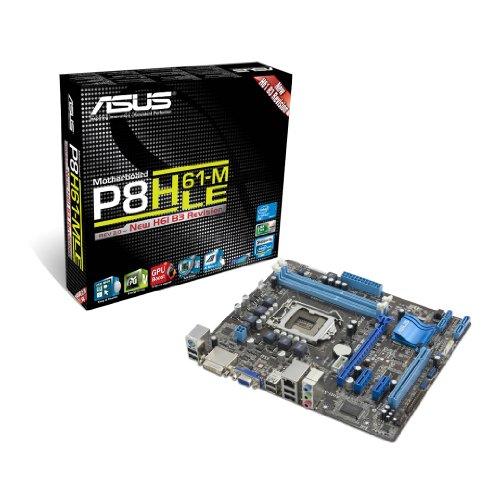 3.0 Mainboard Sockel 1155 (Mini ATX Intel H61, 2X DDR3 Speicher, 4X USB 2.0) ()