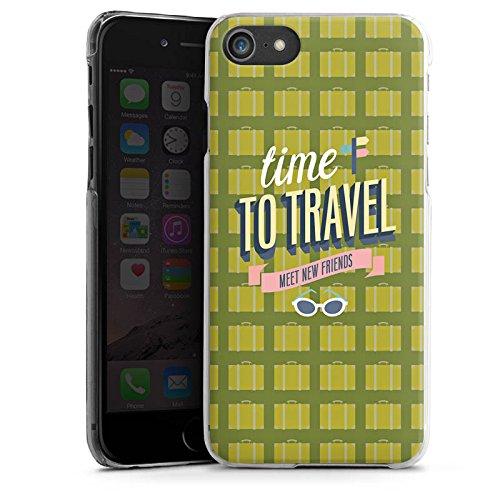 Apple iPhone X Silikon Hülle Case Schutzhülle Urlaub Freunde Spruch Hard Case transparent