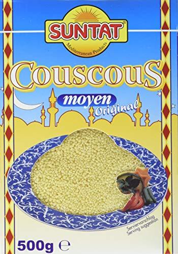 SUNTAT Arabischer Couscous, 2er Pack (2 x 500 g Packung)