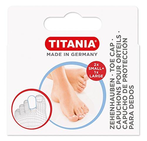 Titania orteils Hottes, 2 petites Plus 1 grande, Box avec trou Euro, 1er Pack (1 x 10 g)