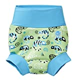 Splash About Jungen Verbesserte Happy Nappy, Green Gecko, 3-6 Monate