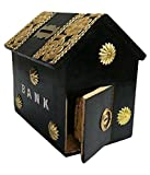 Onlineshoppee Wooden Money Bank Hut Shap...