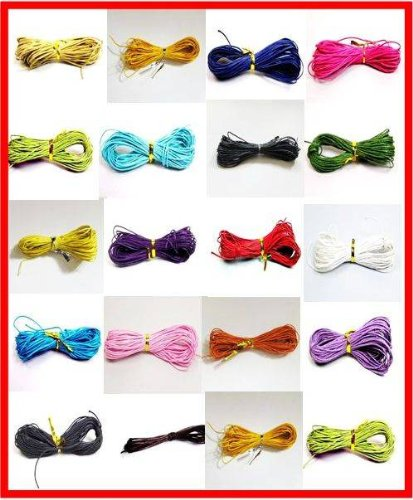 100-meters-1mm-assorted-color-waxed-cotton-necklace-bracelet-jewellery-making-cord-by-forever-beads
