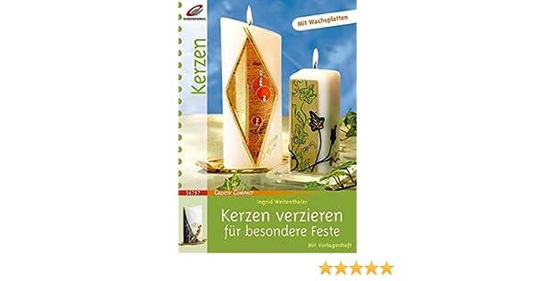 Kerzen Verzieren Fur Besondere Feste Creativ Compact Amazon De