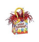 Unique Party Supplies ênico Ballon Gewicht–Happy Birthday–Geburtstag Bunte Ballons sind Deko und Folien Ballons