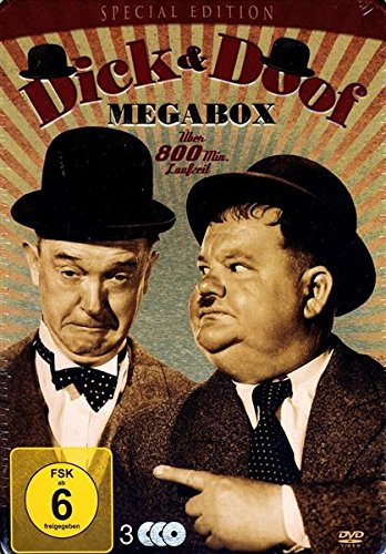 Dick & Doof - Megabox - Special Edition (3 DVDs) - Metall Werk