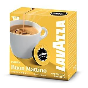 Lavazza Buon Mattino Lungo Espreso Capsules, Total 36