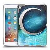 Head Case Designs Offizielle Mai Autumn Silber Mond Garten Weltraum Und Himmel Soft Gel Hülle für iPad Pro 9.7 (2016)
