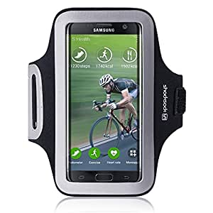 galaxy s7 edge accessoires shocksock brassard armband sport pour samsung galaxy s7 edge coque. Black Bedroom Furniture Sets. Home Design Ideas