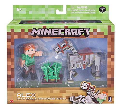 Minecraft Alex And Skeleton Pack