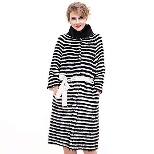 ZYJANO Warmer Mantel,RealLady warme Jacke der Herbst-Winter-Frauen X-Lange Graben-Oberbekleidung 10