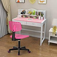 House in a box Office Chair Kid Adjustable Swivel Plastic Chair