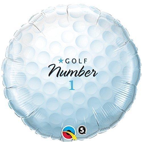 Qualatex Golf Ball Geformt 45.7cm Folien Ballon