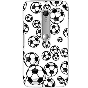 Designer Motorola Moto G3 Case Cover Nutcase -Football !