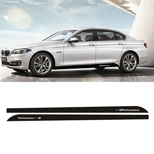 Kaizen-Auto-Decal-2x-215M-Sport-M-Performance-Carbon-Fiber-Side-Skirt-Decal-Stripe-Sticker-for-BMW-3-4-5-Series-F30-F31-F32-F33-F36-E60-E61