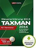 TAXMAN 2016 für Vermieter (für Steuerjahr 2015)
