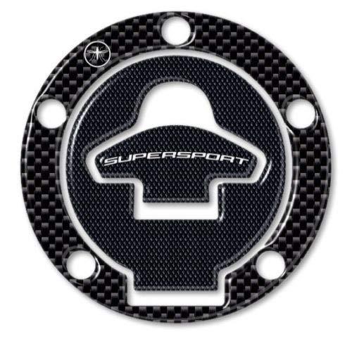 Adhesivo 3d Protección Tapa Del Depósito Compatible para Moto Ducati Supersport