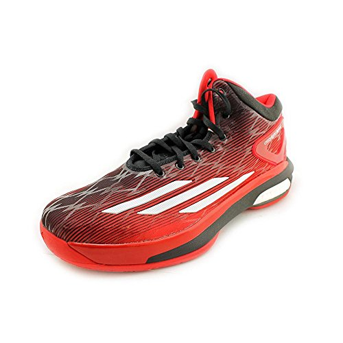 Adidas Crazylight Boost Mens Basketball Shoes 8,8 Scarlet-noir-blanc Scarlet-Black-White
