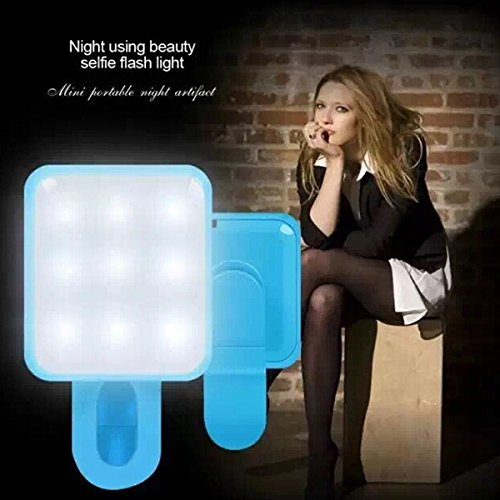 RK-10 NŠchte Selfie Kamera-Blitzlicht Universalmini Externe Synchron-Blitzlampe fŸr Telefon