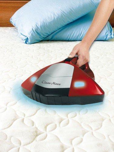 Clean Maxx Sauger Milbensauger mit Mikro-Allergiefilter