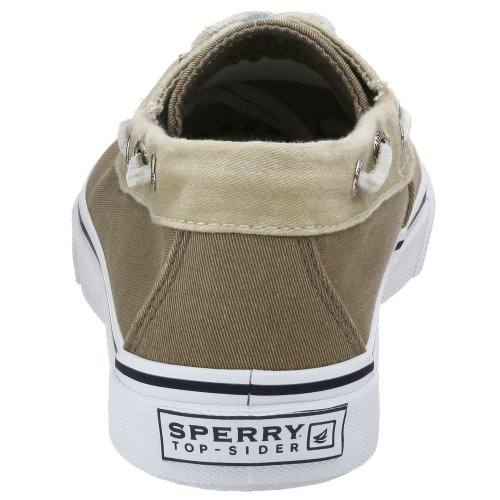 Sperry Bahama 2eye, Chaussures voile homme kaki - blanc