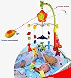 Infrared Remote Control Rotating Baby Cr...