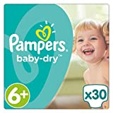 PAMPERS Baby Dry Taille 6+ (Extra Large+) 15 kg et