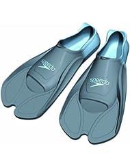 Speedo BioFUSE aleta entrenamiento - grafito/azul Graphite/Blue Talla:37/38