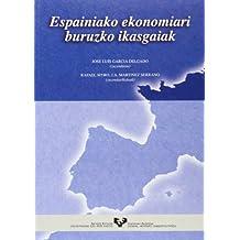 Espainiako ekonomiari buruzko ikasgaiak (Vicerrectorado de Euskara)