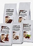 Aromakaffee - aromatisierter Kaffee gemahlen, 3 x 200 g nach Wahl im Geschenkkarton frisch von uns geröstet